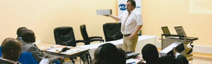 Halliday Finch and Kenya's Anti-Counterfeit Agency deliver essential training to Law Enforcement Agencies in Nairobi